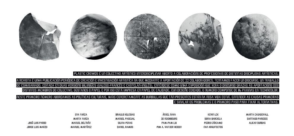 Colaboración de Nan arquitectos en la publicación Plastic Crowds.
