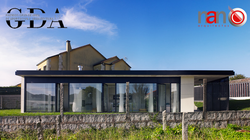 """La casa en Villagarcía recibe el premio """"Gran de area"""""""