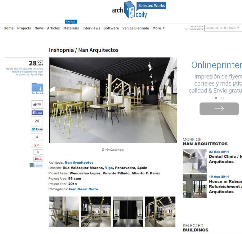 Inshopnia / Nan Arquitectos