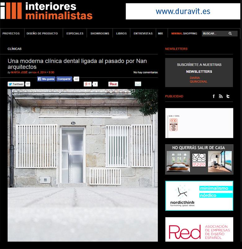 madrid nanarquitectos nancontract interiorismo diseño reformas pontevedra interiores minimalistas