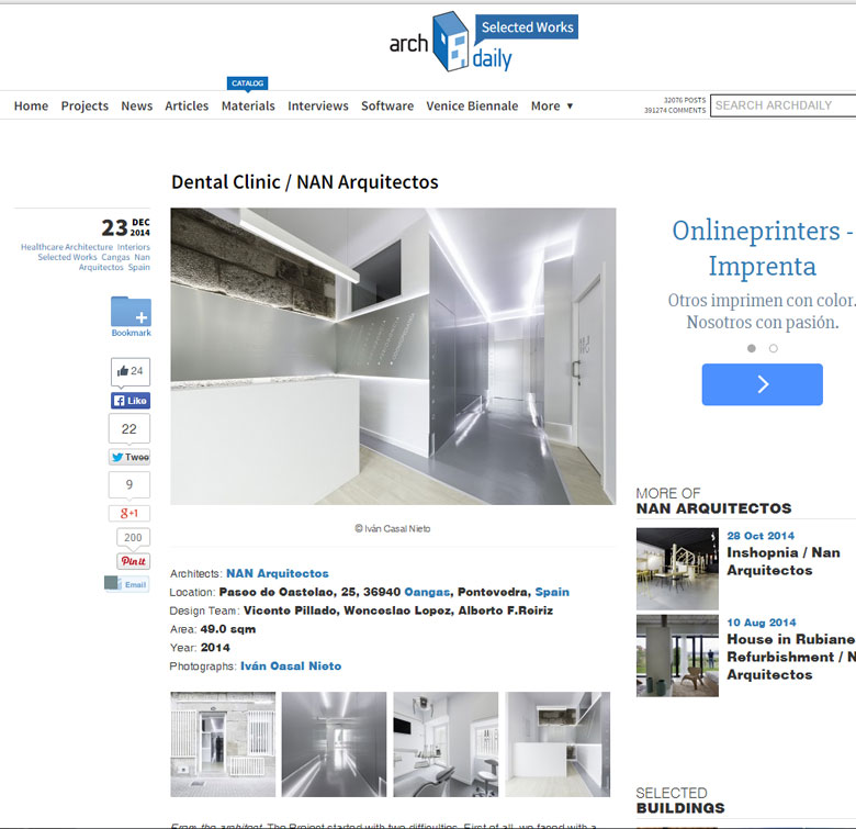 madrid nanarquitectos nancontract interiorismo diseño reformas pontevedra clinica dental