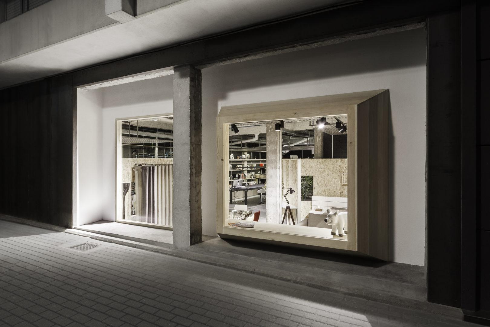 Nanarquitectos Nancontract Interiorismo Diseño Reformas Showroom Concept Habitat Studio