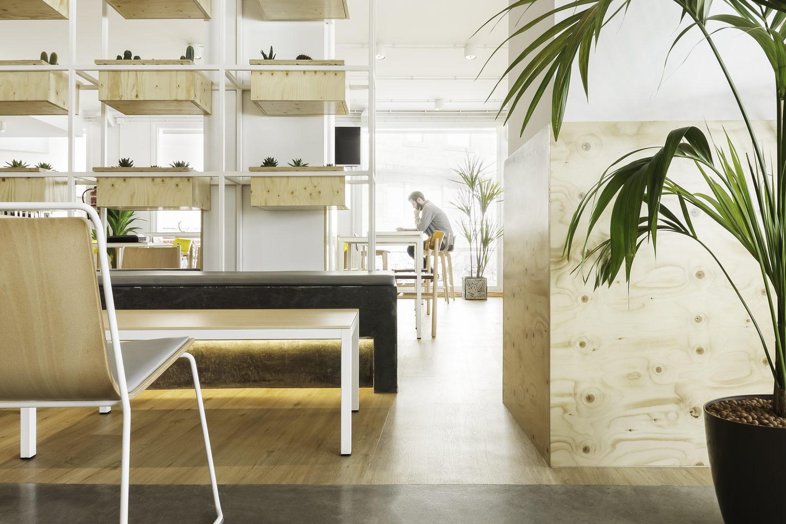 Nanarquitectos Nancontract Interiorismo Diseño Reformas Cafeteria Dorsia