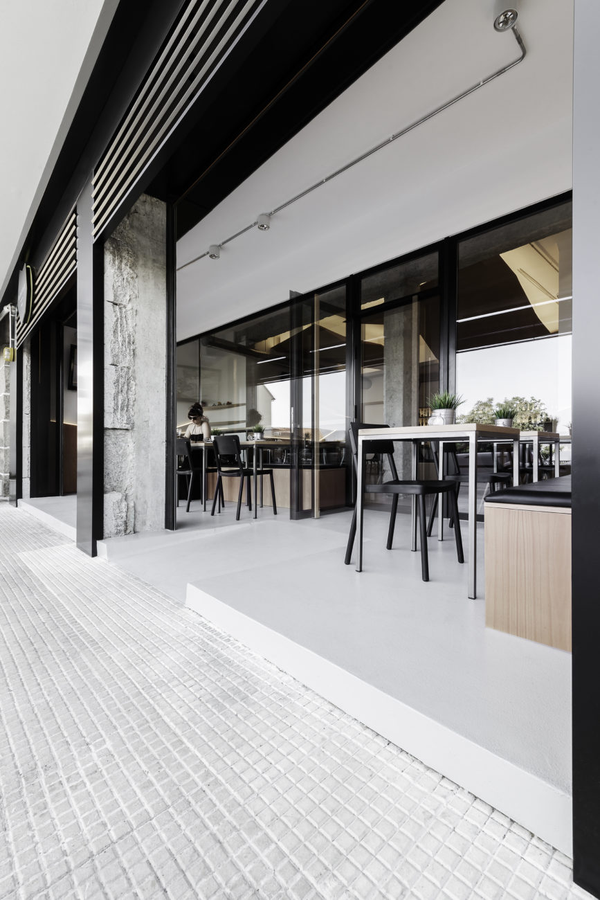 nanarquitectos nancontract interiorismo diseño reformas cafetería mirabous