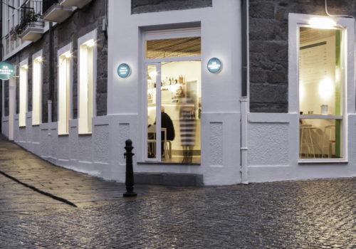 Nanarquitectos Nancontract Interiorismo Diseño Reformas Cafetería La Piadina