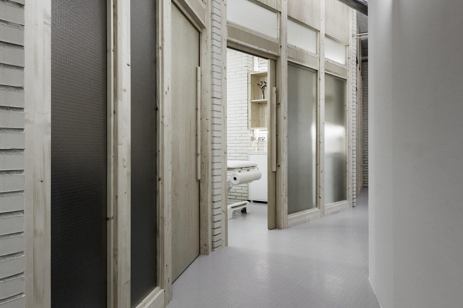 Nanarquitectos Nancontract Interiorismo Diseño Reformas Clínica Fisioterapia Sana Sana