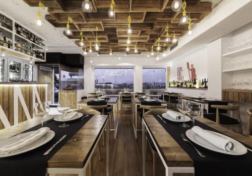 Nanarquitectos Nancontract Interiorismo Diseño Reformas Restaurante Sal De Allo