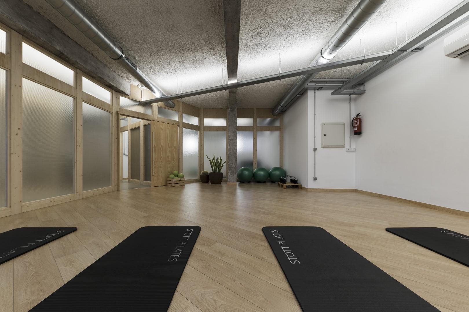 Nanarquitectos Nancontract Interiorismo Diseño Reformas Sana Sana Pilates