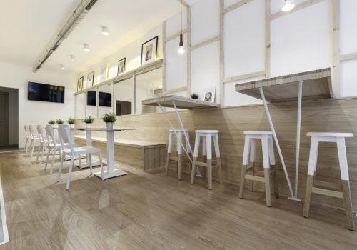 Diseño Iluminación Reforma Proyecto Cafetería