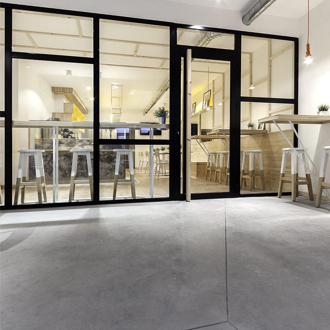 Madrid Nanarquitectos Nancontract Interiorismo Diseño Reformas Pontevedra Cafetería La Torta