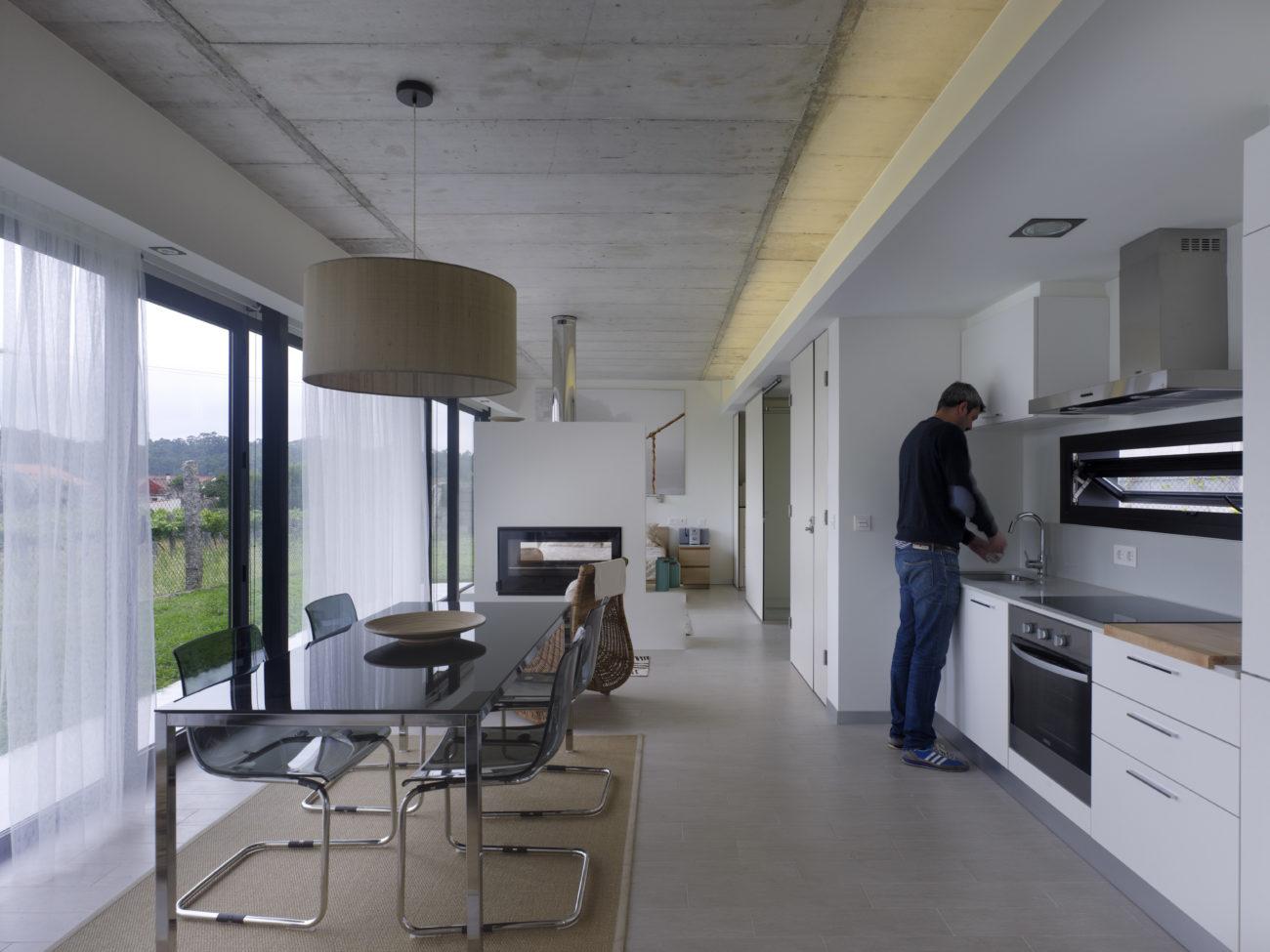 madrid nanarquitectos nancontract interiorismo diseño reformas pontevedra casa villagarcía