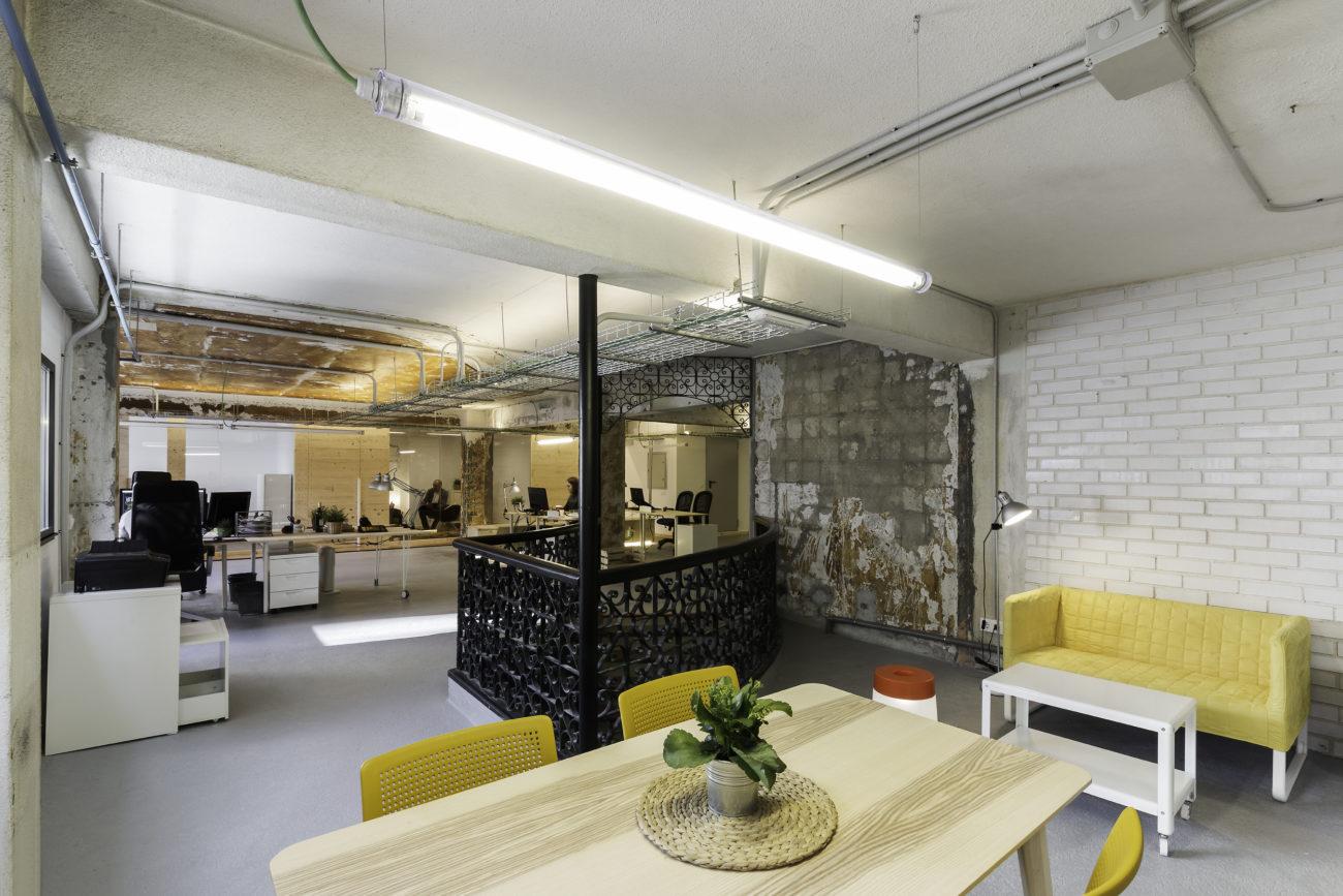 diseño proyecto reforma oficina espacios de trabajo