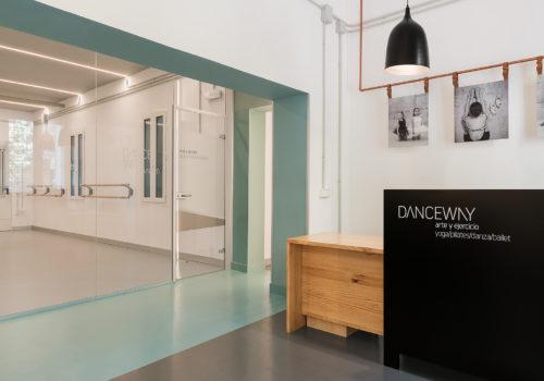 Escuela Danceway Nan Arquitectos Madrid Proyecto Reforma Rehabilitación