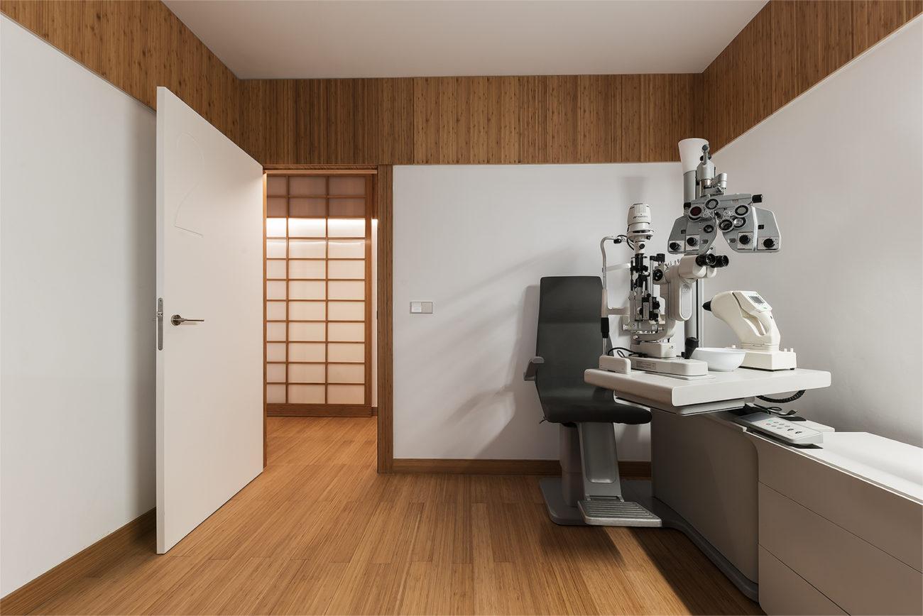nan arquitectos proyecto clínica oftalmologia madrid diseño