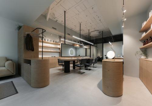 Proyecto Peluquería Nan Arquitectos Reforma Diseño Centro Estética