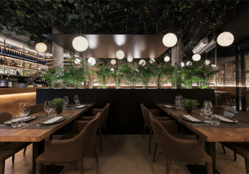 Proyecto Reforma Restaurante Cambados Nan Arquitectos Diseño Iluminación Mobiliario