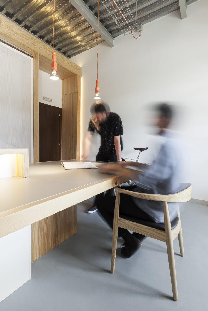 diseño de oficinas mobiliario nan arquitectos pontevedra madrid proyecto reforma