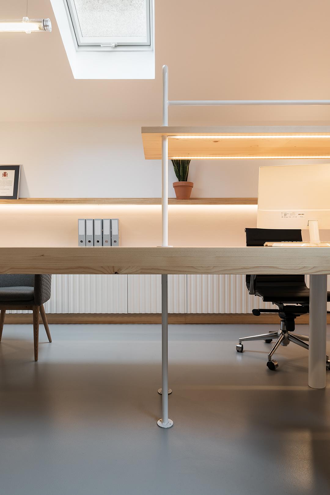 diseño de oficinas nan arquitectos madrid pontevedra proyecto reforma