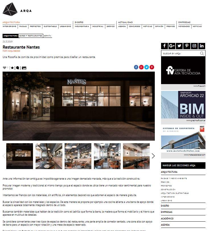 Restaurante Nantes – Arqa