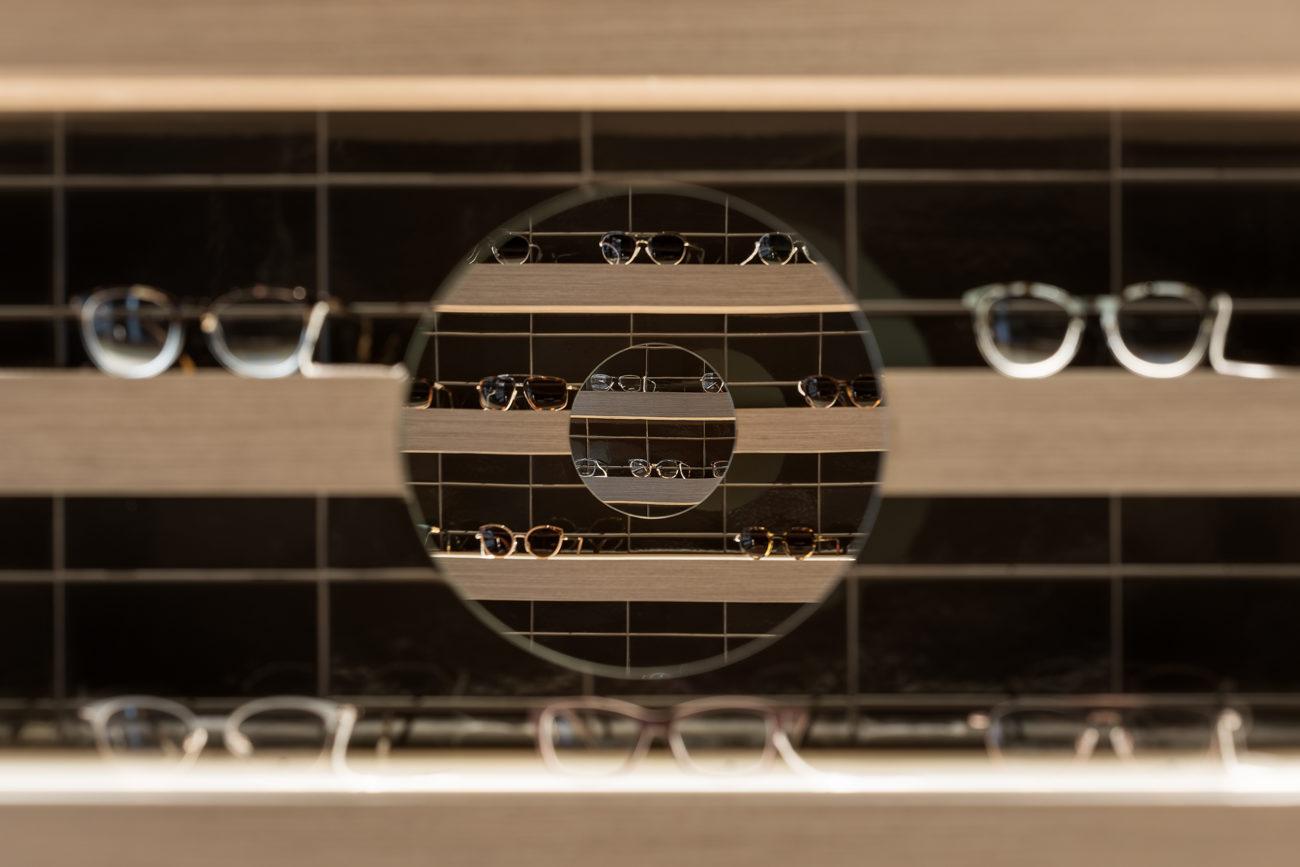 reforma optica lafuente proyecto nan arquitectos diseño madrid pontevedra