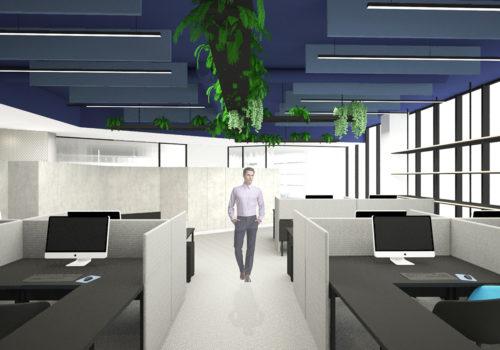 Reforma Proyectos Oficinas Saludables Nan Arquitectos Madrid Pontevedra